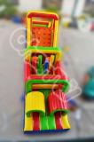 Jeux interactifs gonflables de parcours de combattant de couleurs multi à vendre (chob208)