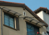 écran extérieur de balcon de polycarbonate de 80X120cm DIY avec la bride en plastique (YY800-C)