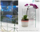 2mm-12mm Holographic Suspensão Imaging Vidro / Smart vidro de beleza (S-F3)