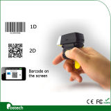 Fs02 Wholesale Qr Code Ring Scanner Bluetooth, Scanner à doigts mains libres, Scanner à 2D pour logistique, transport