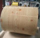 Деревянная картина с катушкой толщины 0.13-1.2mm PPGI/PPGL стальной для Вьетнама