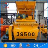 Concreto de la alta capacidad Js500 usar el mezclador concreto