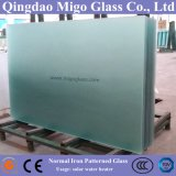 Clear Patterned Solar Knell/Tempered Knell for Thermal Solar Collector