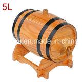 barils de vin gauches du chêne 5L toutes sortes de barils procurables