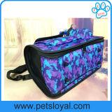 Portador portátil do gato do cão do curso do produto da fonte do animal de estimação da fábrica grande