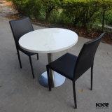 中国の製造者4のSeatersの固体表面のダイニングテーブル