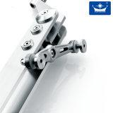 Escalier droit matériel d'acier inoxydable de Contruction