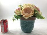 Decorazione di ceramica elegante del pubblico dei fiori artificiali