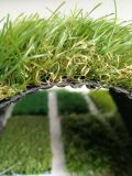 Erba sintetica sembrante naturale per il giardino che modific il terrenoare le decorazioni
