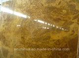 Natural Polished Copper Yellow Marble Tiles&Slabs for Luxury Decoration