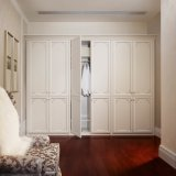 Grandshine 6つのSwangingのドアの優雅の白いメラミン戸棚