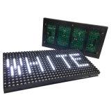 Solo módulo al aire libre de Billboardscreen del texto del blanco LED