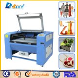 Sistema del grabado del laser del CNC del CO2 para el MDF de madera de cristal del acrílico