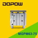 Cilindro pneumatico di Mgpm 63-75 della Tri-Guida di Dopow
