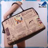 普及した女性のハンドバッグの大きい容量の戦闘状況表示板のハンドバッグの防水ハンド・バッグ