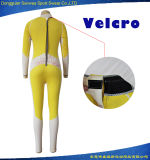 カスタマイズされた女性のネオプレンの防水背部ジッパーのBodysuitのダイビングのウェットスーツ
