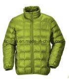 Нейлон зимы проложенный вниз с куртки для людей