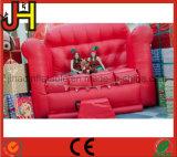 広告のための巨大で膨脹可能なソファーの椅子