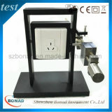 Dispositif d'essai de couple de sortie de plot de fiche d'IEC60065 Fig11