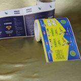 Il contrassegno su ordinazione impermeabile adesivo dell'autoadesivo con il marchio ha stampato