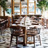 Moderne Houten het Dineren van het Restaurant Stoel voor het Meubilair van het Restaurant