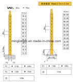 20t-K50/50 (TC7050)タワーのクレーンジブの長さ70mの先端ロード5t