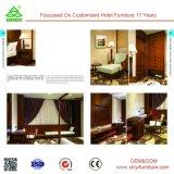 Jogo de quarto da madeira contínua da alta qualidade do OEM da mobília do hotel