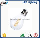Bulbo decorativo retro do filamento do carbono da luz de bulbo da lâmpada de Edison do vintage do diodo emissor de luz Lampada Bombilla de MTX G95 Diament 4W E27 220V