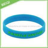 Vente en gros Promotion personnalisée Bracelet en silicone en caoutchouc / Bracelet en silicone