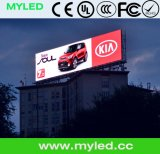 Visualización de LED de la publicidad al aire libre para la instalación permanente