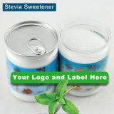 Stevia natural libre del dulcificante del azúcar de la escritura de la etiqueta privada
