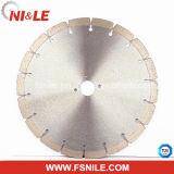 La circular de la rueda de la herramienta de corte del diamante que cubría con bronce vio la lámina para la piedra
