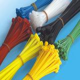 Relation étroite en plastique de fermeture éclair du produit Nylon66 pour le sac attaché