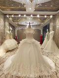 標準的なウェディングドレスの新しい到着の夜会服のひだの結婚