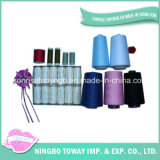 High Tenacity Raw White Embroidery 100% Polyester Sewing Thread