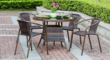Bar Rattan Chair and Wicker Table Set Fabricante Desde China