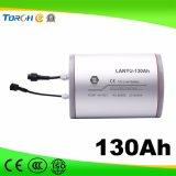 batteria chiara solare 12V, memoria solare dello Litio-Ione 130ah della batteria di litio