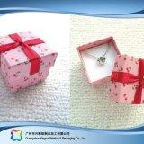 Luxuxuhr/Schmucksachen/Geschenk hölzerne/Papier-Bildschirmanzeige-verpackenkasten (xc-hbj-027b)