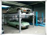 Máquina de quatro bornes para o sistema de levantamento do estacionamento do carro dos veículos