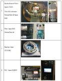 C печатает механически давление на машинке 200ton с итальянским сухим сцеплением Ompi, моторы Тайвань Teco, подшипники японии NTN/NSK, фидер катушки