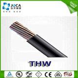 銅のコンダクターPVCによって絶縁されるThwは薄くワイヤーで縛る