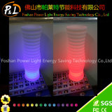 LED Light Up Round Garden Decoração LED Flower Vase