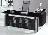 Premiers meubles de bureau en bois en verre de bureau de directeur (HX-GL012)