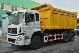 Capienza pesante di Dongfeng 6X4 25 tonnellate di rullo del braccio fuori dal camion di immondizia