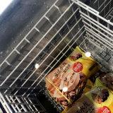 Congélateur d'île combiné par congélateur d'aliments surgelés utilisé pour la viande et des poissons