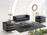 Jogos modernos do sofá do frame de madeira do sofá da sala de visitas do sofá de couro (UL-NS061)