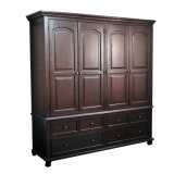 Inicio Diseño Gabinete de madera Armario de diseño para el dormitorio (GSP17-011)
