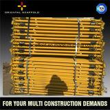 Регулируемые телескопичные стальные упорки лесов для поддерживать здания конструкции