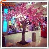 Albero artificiale del fiore di ciliegia vetroresina dell'interno della decorazione della mini