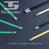 Serres-câble enduits d'acier inoxydable de force de la chaleur